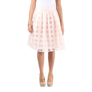 Hadari Women Knee Length Skirt