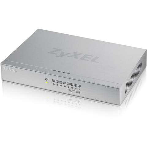 ZyXEL 8-Port Desktop Gigabit Ethernet Switch