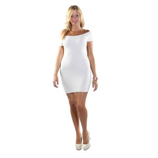 Hadari Women Off Shoulder Sheat Dress