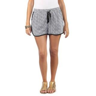 Hadari Women Elastic Waist Drawstring Shorts