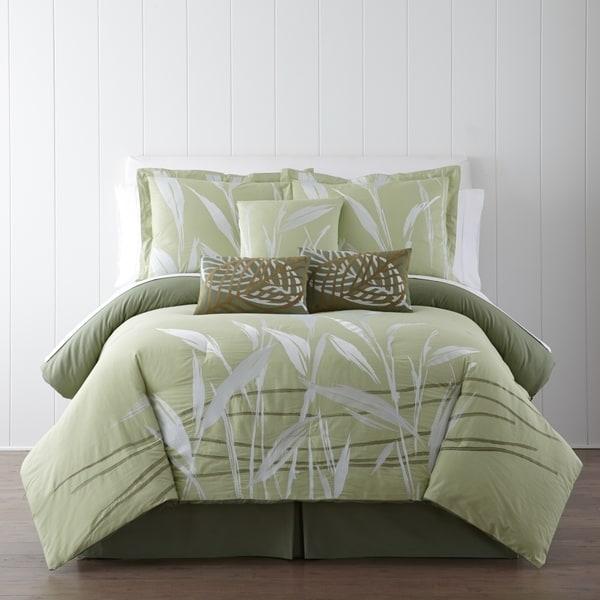 Panama Jack Pampas Embroidered 7-piece Comforter Set