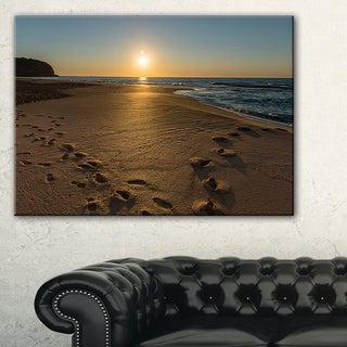 Sydney Seashore at Sunrise - Seashore Canvas Wall Artwork
