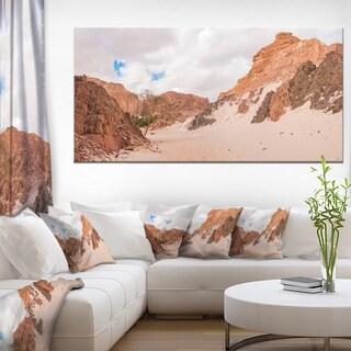 Fantastic Panorama of White Canyon - Extra Large Wall Art Landscape