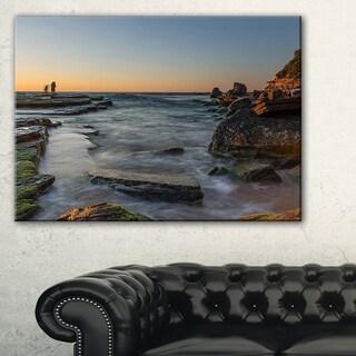 Sydney Sunrise Over Seashore - Seashore Canvas Wall Artwork