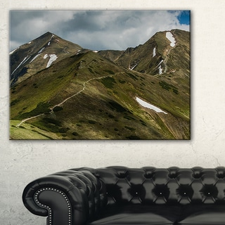 Trekking Patch in Tatra Mountains - Landscape Art Print Canvas