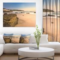 Beautiful Rocky Seashore at Norah Head - Large Seashore Canvas Print