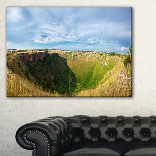 Pulo Di Altamura Panorama - Landscape Art Print Canvas
