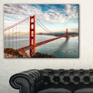 Golden Gate Bridge in San Francisco - Sea Bridge Canvas Wall Artwork