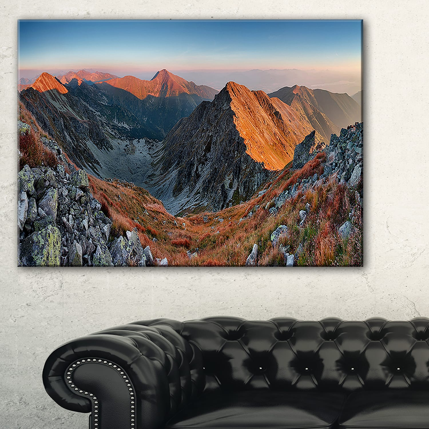 Slovakia Mountains At Autumn Landscape Wall Art Canvas Print Multi Color Overstock 12210713