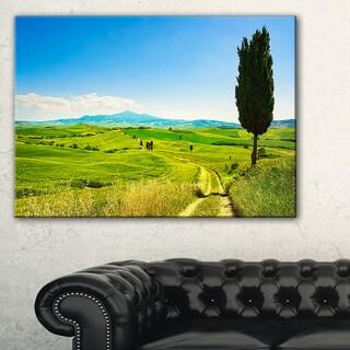 Rural Landscape Countryside Farm - Oversized Landscape Wall Art Print
