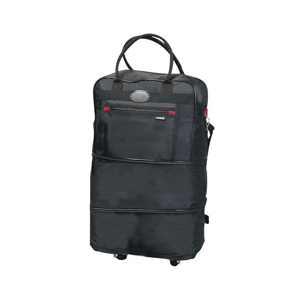 Goodhope Nylon Expandable Rolling Tote Bag