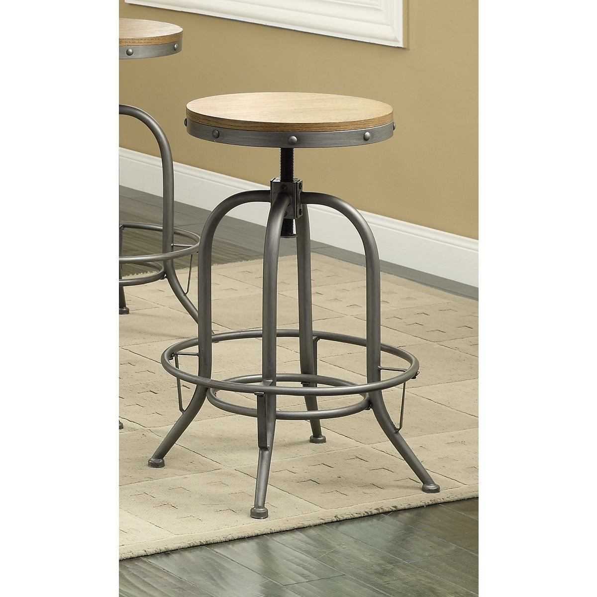 Groovy Coaster Company Wood And Metal Bar Stool Gmtry Best Dining Table And Chair Ideas Images Gmtryco