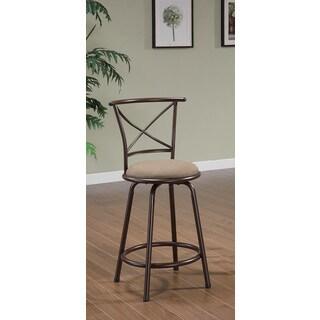 Coaster Company Brown 24-Inch Barstool