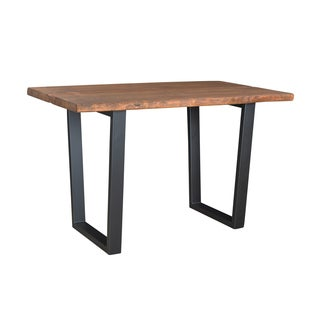 Christopher Knight Home Wood and Iron Counter Height Dining Table