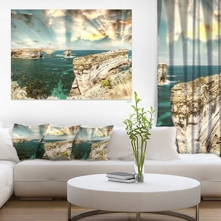 Rocks at Great Ocean Road Victoria - Extra Large Seascape Art Canvas
