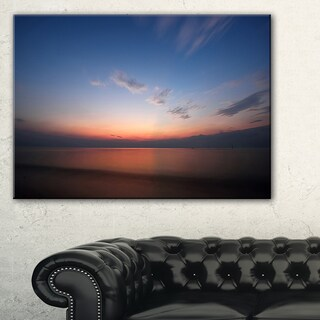 Ko Samui Sea Sunrise Panorama - Oversized Beach Canvas Artwork