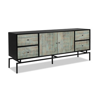 Artefama Pollo Distressed Blue Reclaimed Wood Buffet