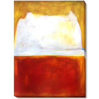 Mark Rothko 'No. 8' Hand Painted Framed Canvas Art