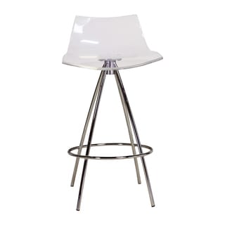 Ice Transparent Counter Stool