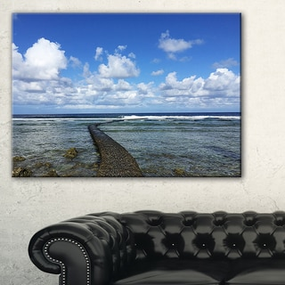 Rocky Coast along Pacific Ocean - Extra Large Seashore Canvas Art