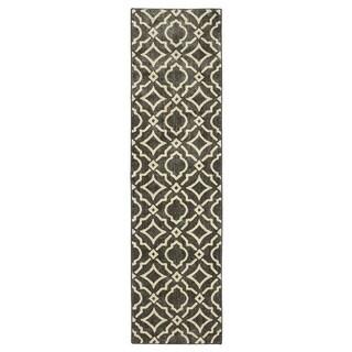 Mohawk Home Studio Carved Tiles Denim Area Rug (2'1 x 7'10)
