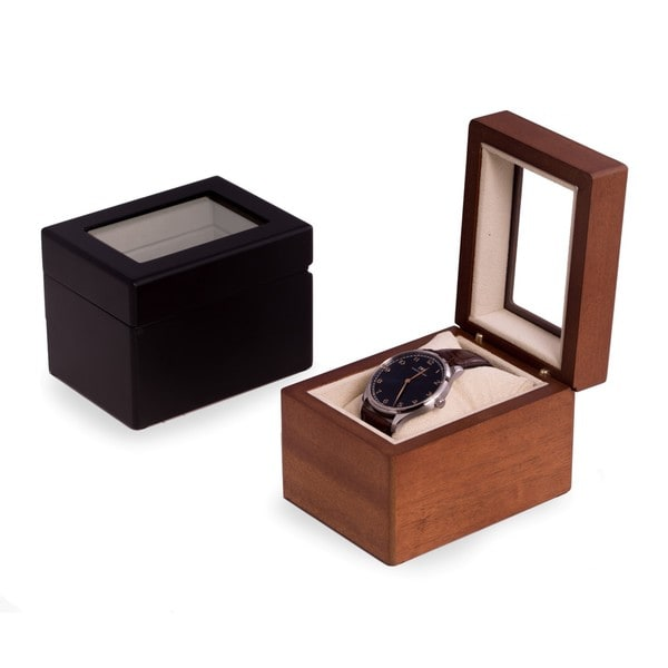 Vincent Solid Wood Single Watch Box