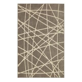 American Rug Craftsmen Nomad Artesia Gray Area Rug (5' x 8')