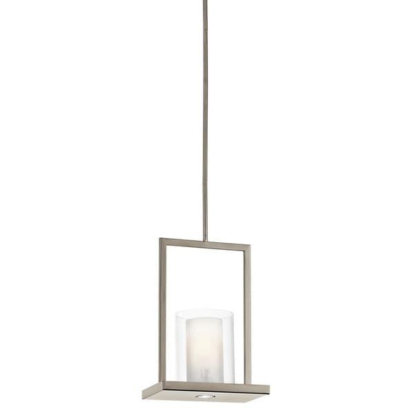 Kichler Lighting Triad Collection 1-light Classic Pewter Pendant