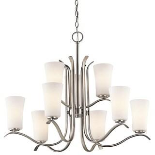 Kichler Lighting Armida Collection 9-light Brushed Nickel Chandelier