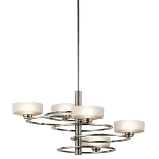 Kichler Lighting Aleeka Collection 5-light Classic Pewter Chandelier