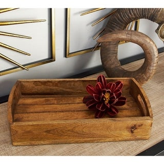 Wood Serving Tray (Set of 3)