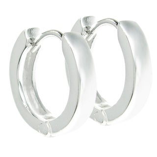 Queenberry Sterling Silver 13mm Ring Hoop Dangle Stud Ear Wire Earrings