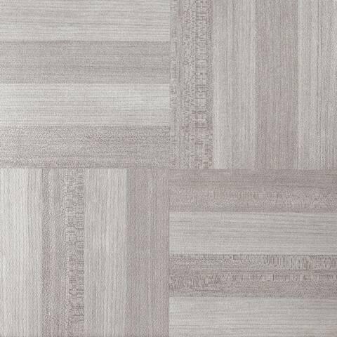 Achim Nexus Ash Grey Wood 12x12 Self Adhesive Vinyl Floor Tile - 20 Tiles/20 sq. ft.