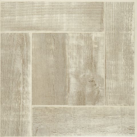Achim Nexus Saddlewood 12x12 Self Adhesive Vinyl Floor Tile - 20 Tiles/20 sq. ft.