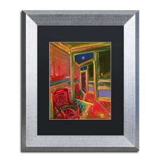 Lowell S.V. Devin 'Curious World' Matted Framed Art