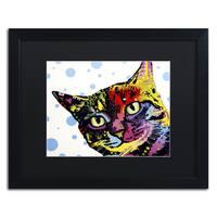 Dean Russo 'The Pop Cat' Matted Framed Art