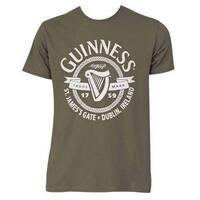 Guinness St. James Gate Green Cotton Short-sleeve T-shirt