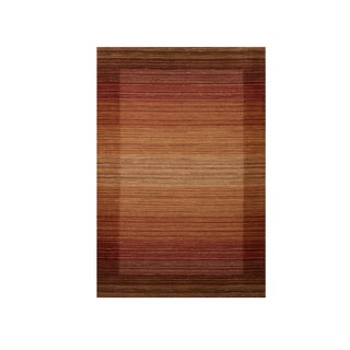 Excell Kingston Spice Stripe Area Rug (5'x8')