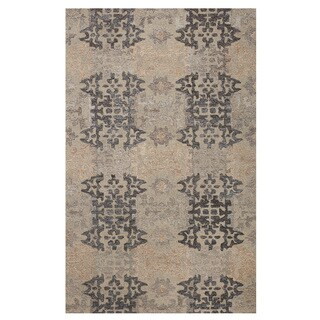 Excell Tile Path Grey Area Rug (5'x8')