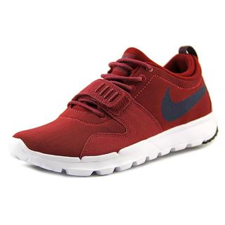 Nike Men's 'Trainerendor' Red Basic Textile Athletic Shoes