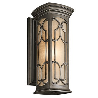 Kichler Lighting Franceasi Collection 1-light Olde Bronze Outdoor Wall Lantern
