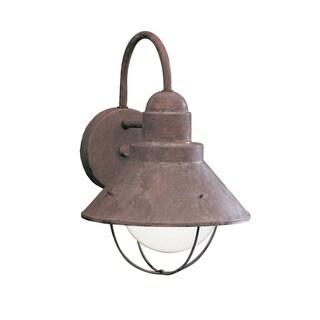 Kichler Lighting Seaside Collection 1-light Olde Brick Outdoor Wall Lantern