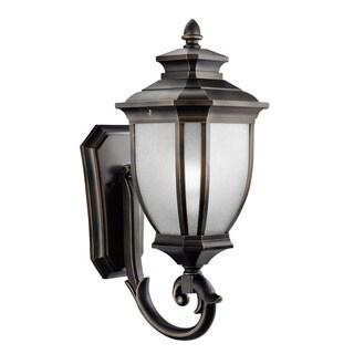 Kichler Lighting Salisbury Collection 1-light Rubbed Bronze Outdoor Wall Lantern