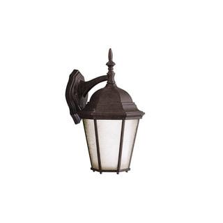 Kichler Lighting Madison Collection 1-light Tannery Bronze Outdoor Wall Lantern