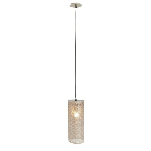 Contemporary 60 x 6 Inch Iron Pendant Light by Studio 350