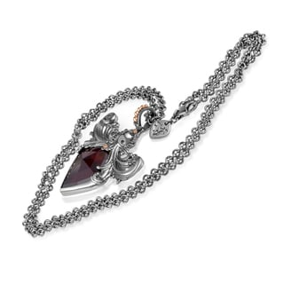 Stephen Webster Jewels Verne Sterling Silver Gold-plated Quartz Pendant Necklace
