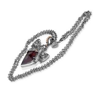 Stephen Webster Jewels Verne Sterling Silver Gold-plated Quartz Pendant Necklace