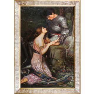 John William Waterhouse 'Lamia, 1905 (version 1)' Hand Painted Framed Canvas Art