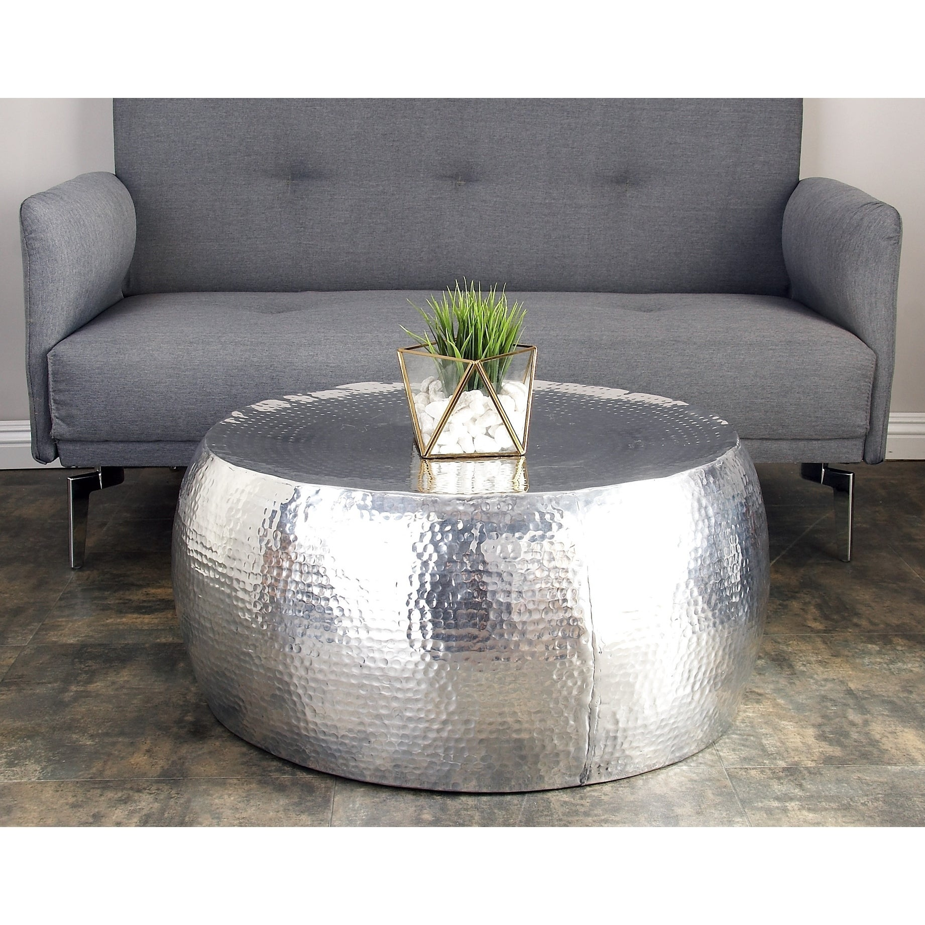 Studio 350 Aluminum Coffee Table (30 inches wide x 14 inc...