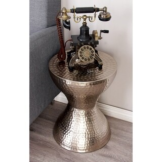 Metal Accent Table (14 inches wide x 18 inches high)